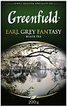 Чай черный GREENFIELD Earl Grey Fantasy с ароматом бергамота 200 г